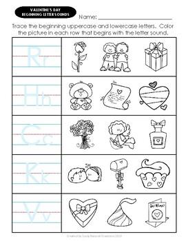 Elementary VALENTINE'S DAY Worksheet Variety Pack