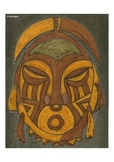 Elementary Visual Art Project - African Mask