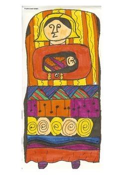 Elementary Visual Art Project - Babushka