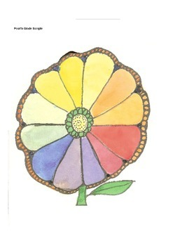 Elementary Visual Art Project - Color Chart