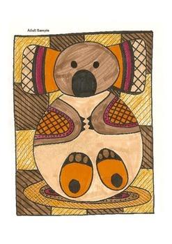 Elementary Visual Art Project - Koala - Australian