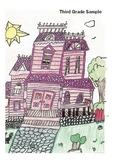 Elementary Visual Art Project - Mansion