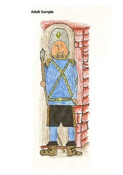 Elementary Visual Art Project - The Castle Guard