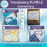 Elementary Vocabulary Games Bundle