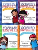 Elementary Vocabulary Survival Kit Grades 2-5: BUNDLE
