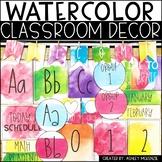 Elementary Watercolor Decor Bundle
