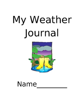 Elementary Weather Journal