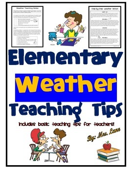 Elementary Weather Teaching Tips