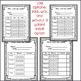 Elementary Weekly Behavior Log