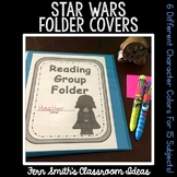 Student Binder Covers - Star Wars Space Themed Student Work Folder Cover