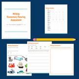 Elementary Writing - Assessment for Tutoring