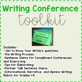 Elementary Writing Conference Toolkit