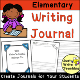 Elementary Writing Journal Template