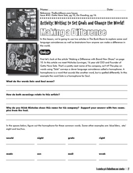 Elementary Writing Lessons: Relevant Writing Applications