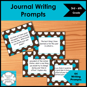 Elementary Writing Prompts