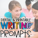 Elementary Writing Prompts | Digital & Printable Writing |