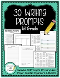 30 Writing Prompts for 1st Grade