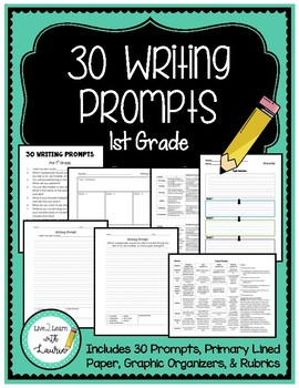 Elementary Writing Prompts Package