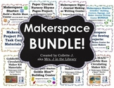 Elementary and Middle School Makerspace BUNDLE!
