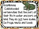 Elementary life science animal classification vocabuary word wall