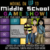 Elementary to Middle School Transition Lesson: Moving Up To Middle School Game