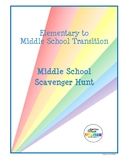 Elementary to Middle School Transition Scavenger Hunt