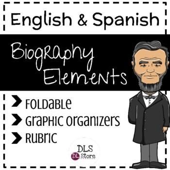 English & Spanish Biography Elements