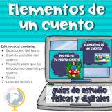 Elementos de un Cuento en español (Setting of a story in Spanish)