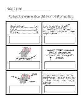 Spanish Nonfiction Book Study Resources & Lesson Plans | Teachers ...