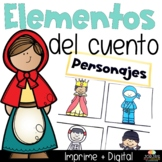 Elementos del cuento | Story Elements in Spanish