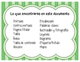 Non Fiction Text Features - SPANISH