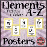 "Elements A-Z Posters - ""Wonder"""