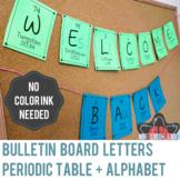 Elements A-Z Bulletin Board Letters - version 2