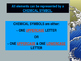 Elements, Chemical Symbols, & Chemical Formulas Powerpoint