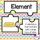 Elements, Compounds, & Mixtures Jigsaw Puzzles! Great for Review!
