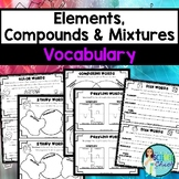 Comparing Elements Compounds Mixtures Worksheet Teaching Resources ...
