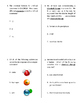Elements & Compounds Quiz, Test, or WS MOD