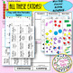 NEWBiggerBetter-Elements & Compounds Vocab MatchUP CARDs w Free Extras for PT!