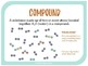 Elements, Compounds, and Chemical Change - 6th Grade Science Vocabulary
