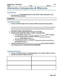 Elements, Compounds, and Mixtures Lesson