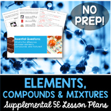 Elements Compounds and Mixtures - No Lab
