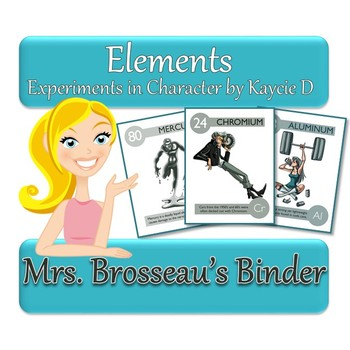 Elements: Experiments in Character - PowerPoint to Introduce the Periodic Table