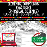 Elements Just the Essentials Content Outlines, Next Generation Science