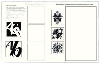 Elements Of Design Packets - Line, Shape, Texture & Value