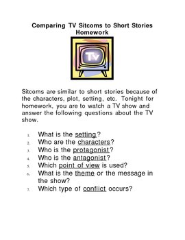 Elements of Short Stories in TV Shows