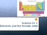 Elements/ Periodic Table Unit Power Point