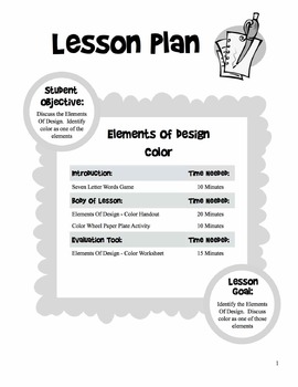 Elements & Principles Of Design - 5 Day Unit