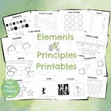 Elements & Principles Printables