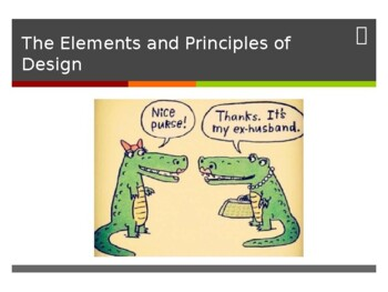 Elements Principles Of Design Ppt By Emily Riesenweber Tpt