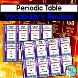 Periodic Table Vocabulary Review Game